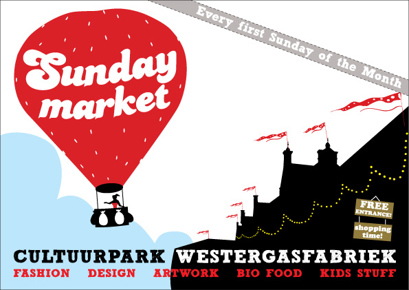 Sunday Market (Westerpark, Amsterdam