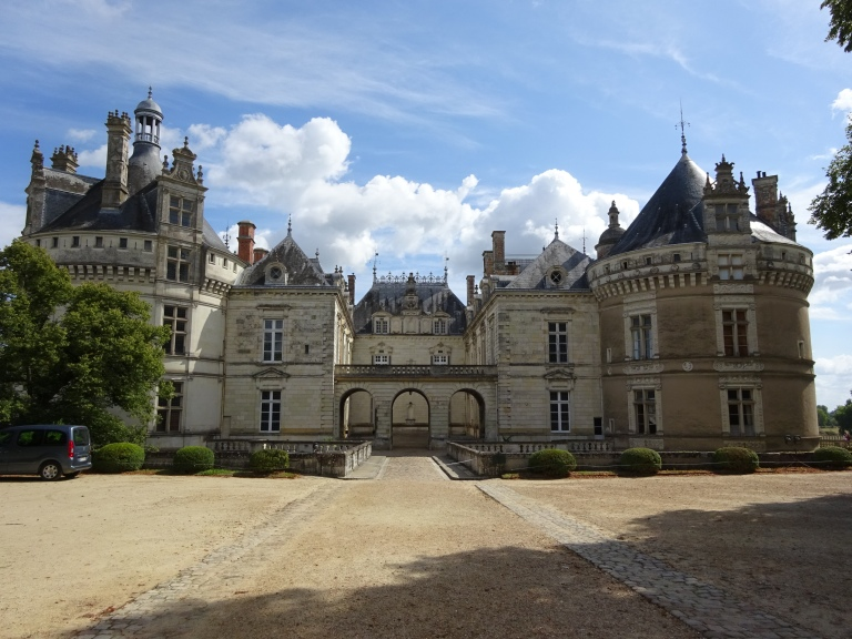 """""""Chateau du Lude"""" Front"""
