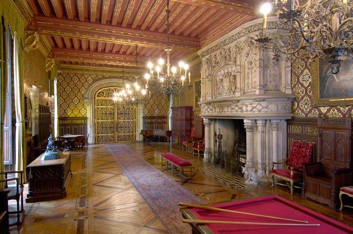 """""""Chateau du Lude"""", interior"""