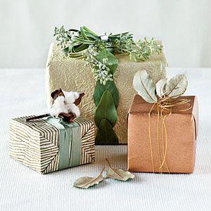 Beautifully wrapped presents- Kynzah.com