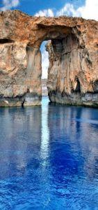 Blue Window, Malta