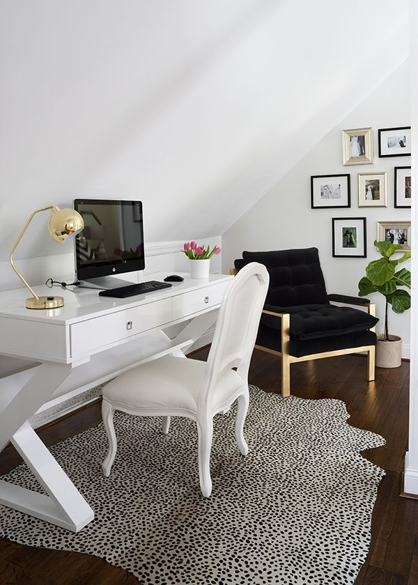 Home Work Space Inspiration. www.kynzah.com