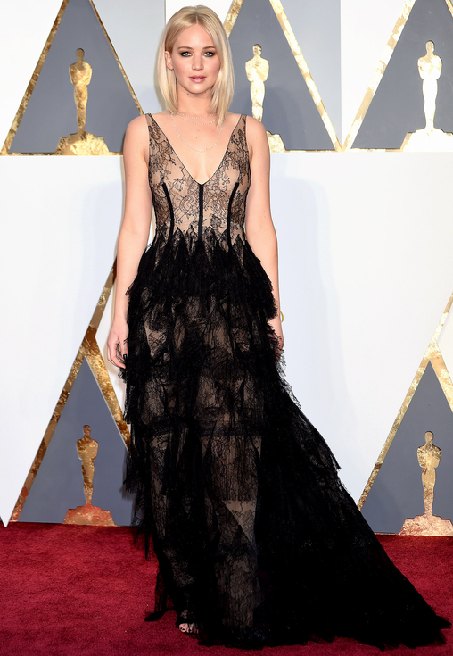 Jennifer Lawrence, 88th Annual Academy Awards. Kynzah.com