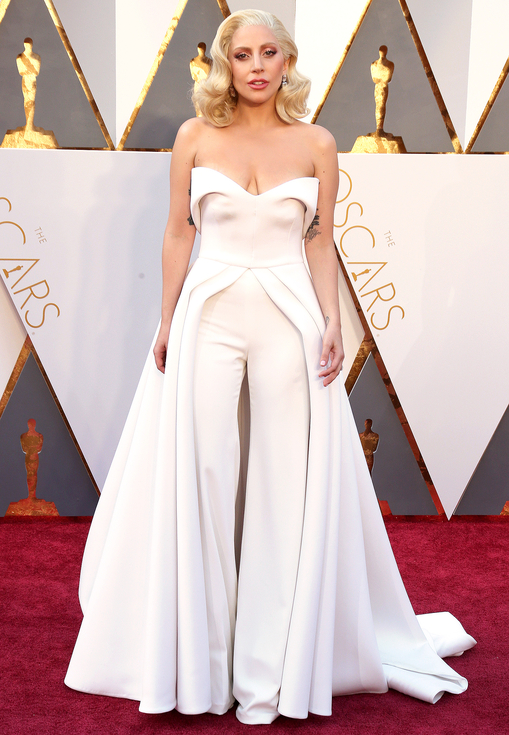 Lady Gaga , 88th Annual Academy Awards. Kynzah.com