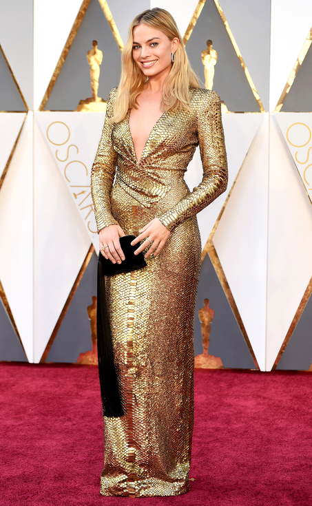 Margot Robbie, 88th Annual Academy Awards. Kynzah.com
